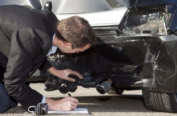 Оценка повреждений авто специалистом
