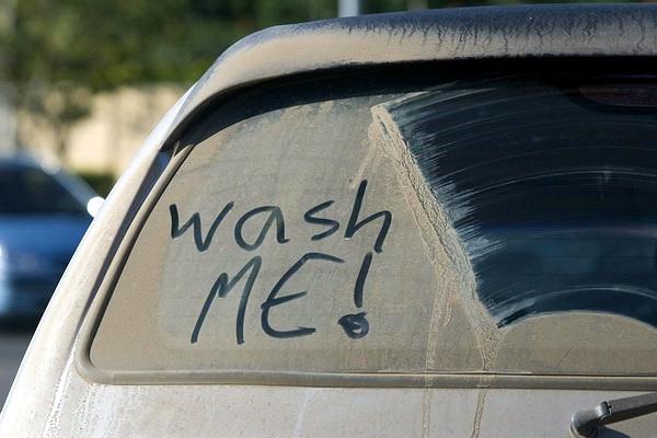 грязная машина