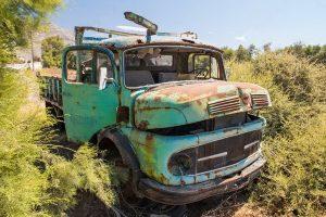 грузовик для утиля