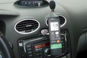 измеритель шума в авто