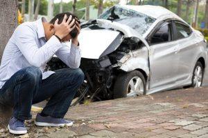 тотальное уничтожение автомобиля
