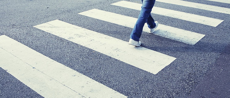 Правила дорожного движения непропуск пешеходов колонны детей