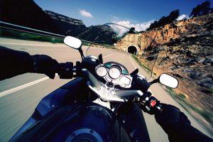 Мотоцикл в пути