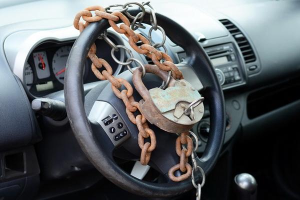 Руль с цепями